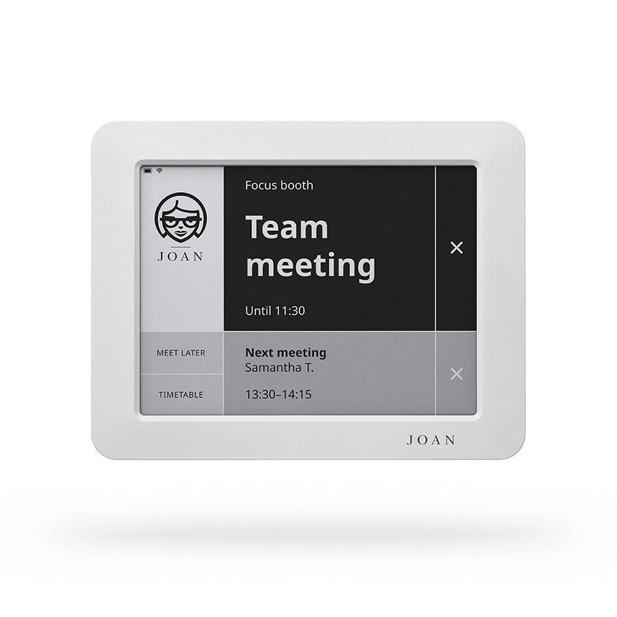 Joan Manager The Number One Meeting Room Booking System