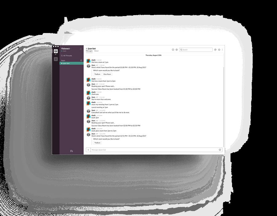 Meeting Room Scheduler System Slack Integration