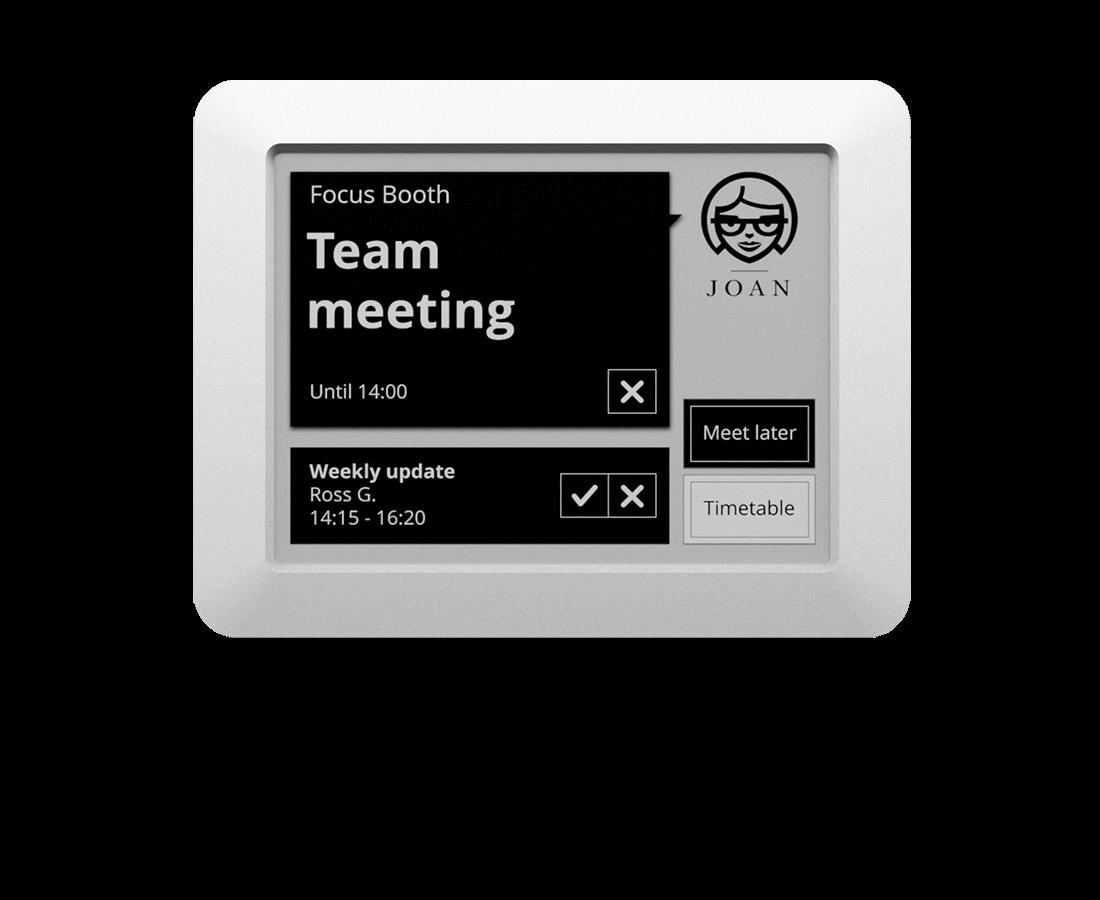 Meeting Room Scheduler Reservation Display 6 inch