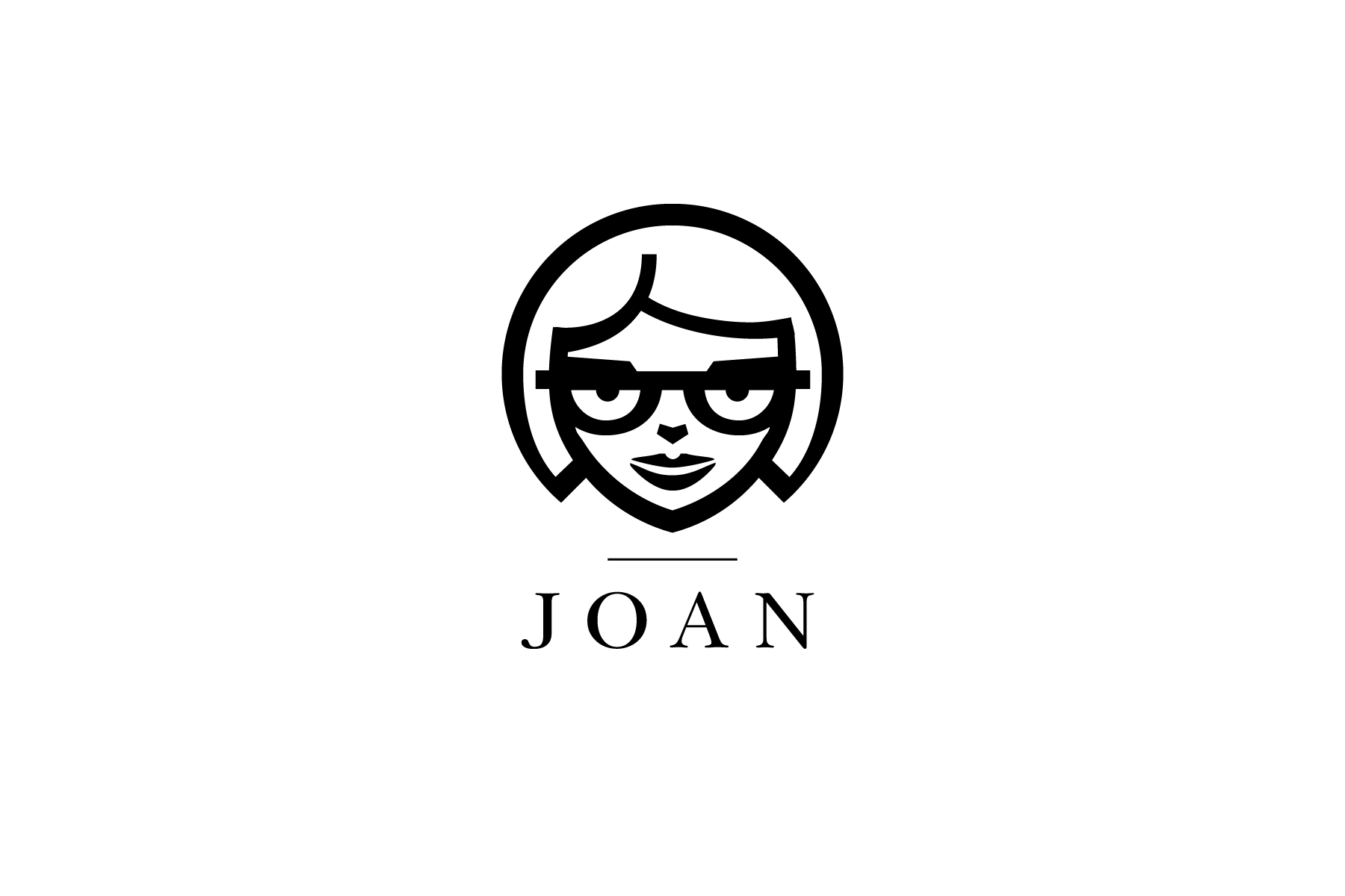 Joan logo for Famous Joans