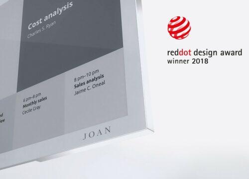 Joan Reddot design award winner 2018 picture