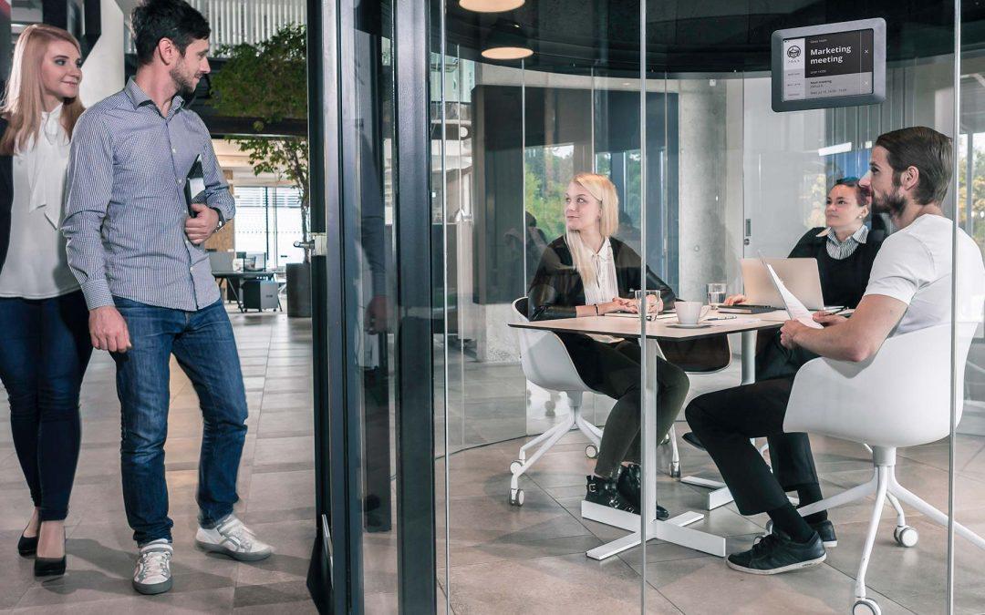 Meeting room design boosts productivity