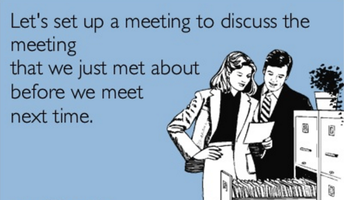 Inefficient meetings and how to stop them