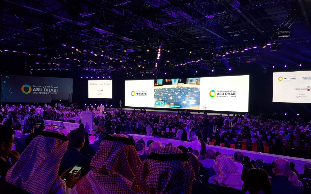 Joan goes to Abu Dhabi and joins the WFES