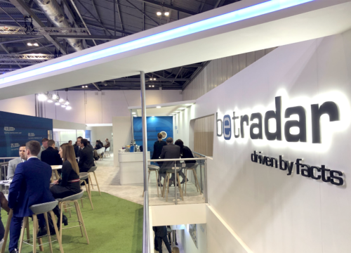 Joan hitches a ride to ICE London 2019 with Sportradar
