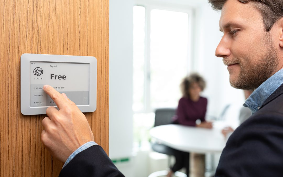 How does Joan fit meeting room booking system industry requirements?