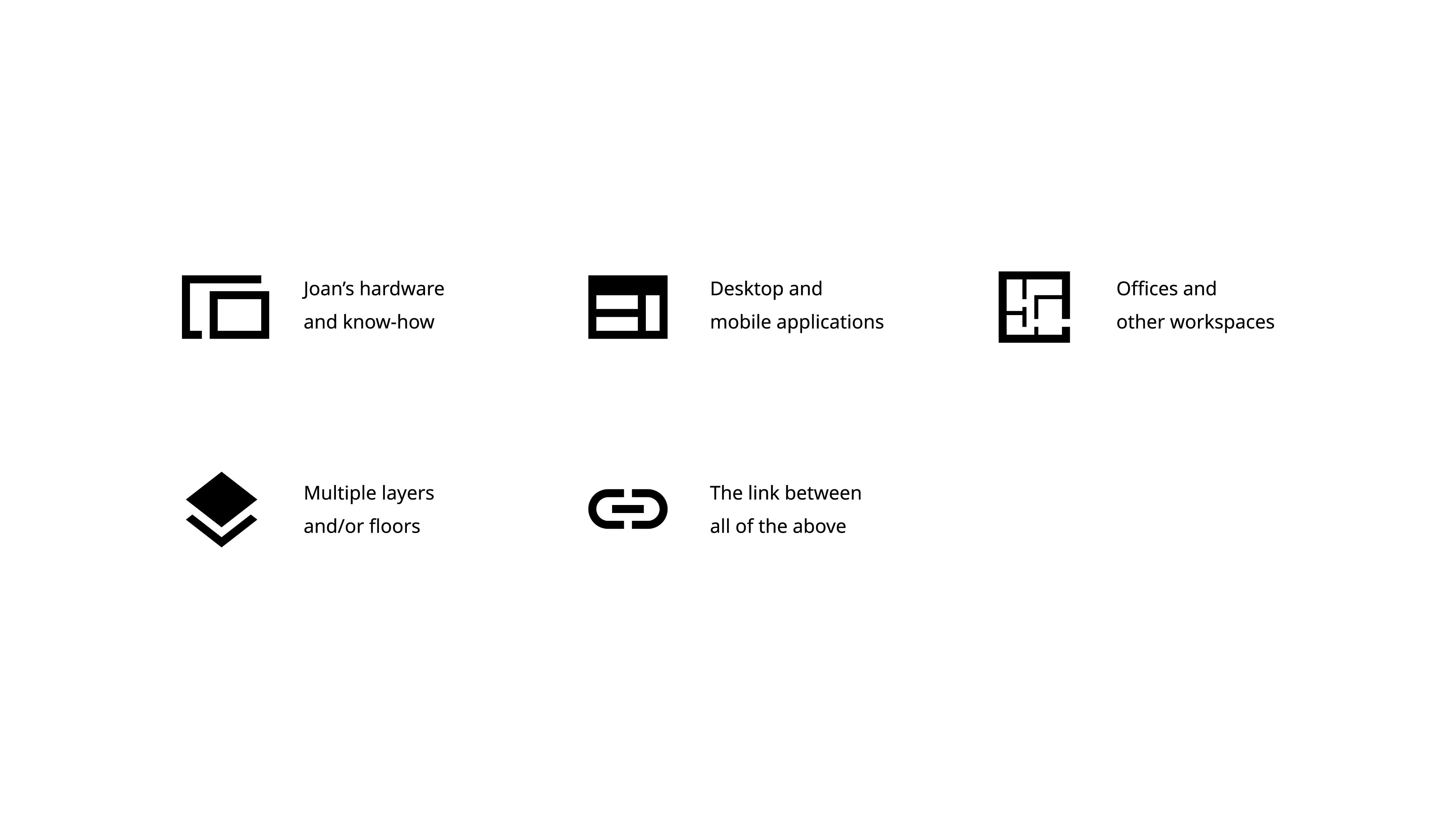 visualised explanation of new Joan logo